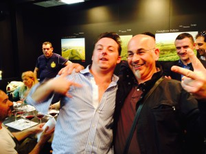 Nik il Mentalista e Luca Gardini