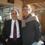 Nik con il regista Neri Parenti