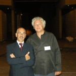 Nik e il regista Ferdinando Vicentini Orgnani