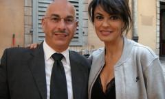 Nik e Maria Grazia Cucinotta