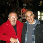 Nik con il regista Salvatore Basile