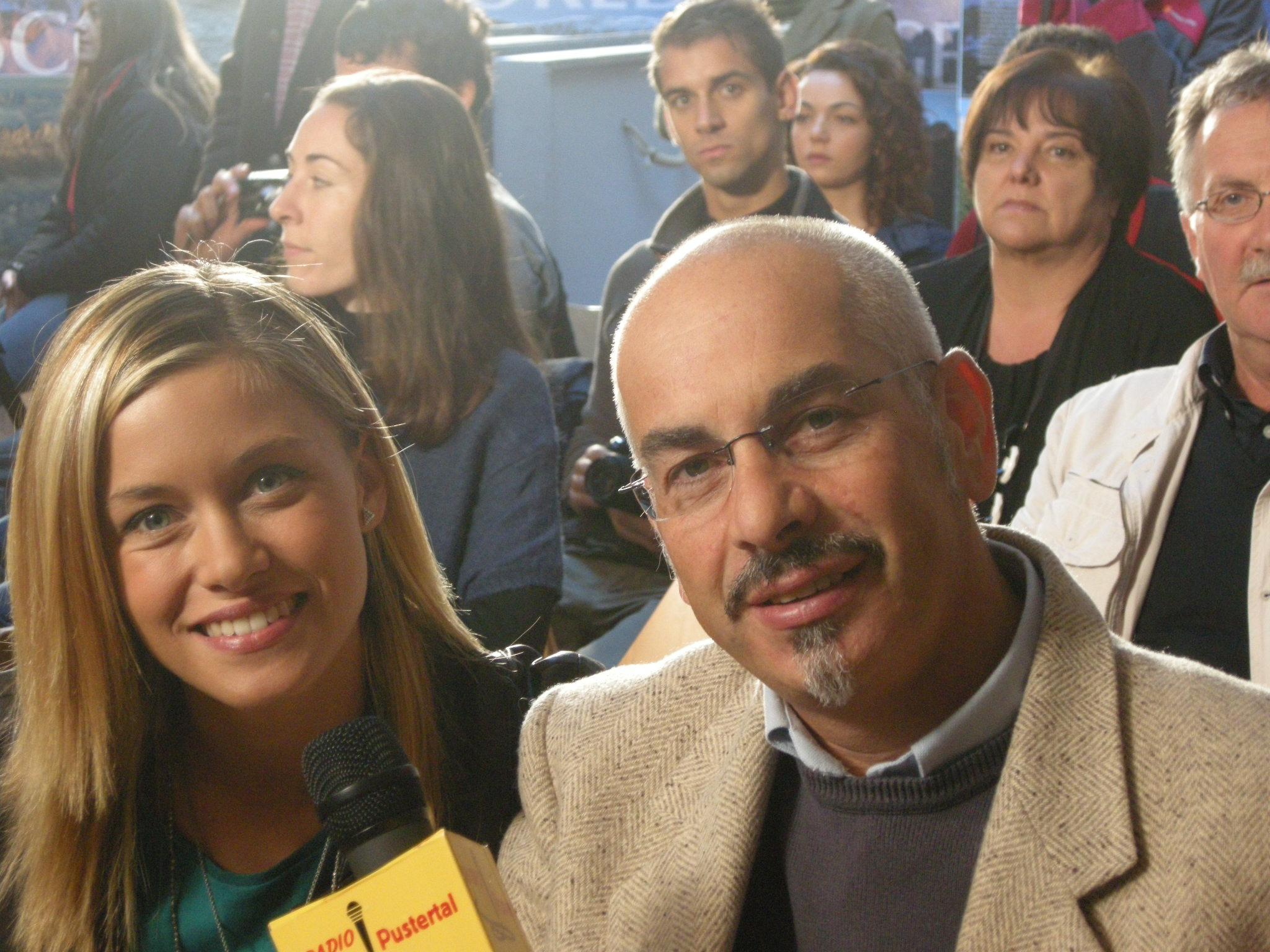 Nik e Alice Bellagamba sul set