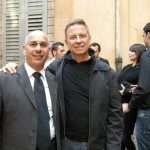 Nik ed il Regista Angelo Longoni