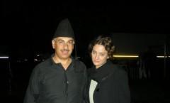 Nik con Giovanna Mezzgiorno